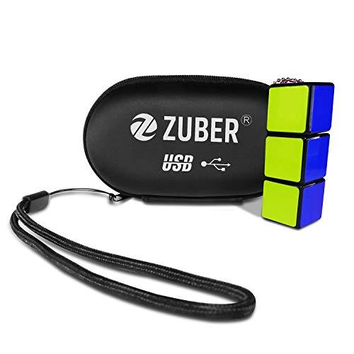 ZUBER-Memoria flash USB cubo Rubik® novedad clave