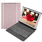 VBESTLIFE Ultraleichte Tragbare Drahtlose Bluetooth 3.0 Tastatur,Wasserdichte Externe Tastatur für iPad 9.7(Pink)