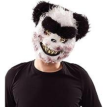 EUROCARNAVALES Máscara de Panda Zombie
