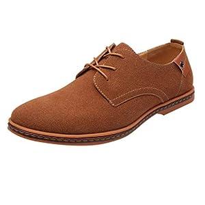 feiXIANG Wanderschuhe für Herren Sneaker Casual Lace Up Solid Outdoor Schuhe Männliche Business-Schuhe
