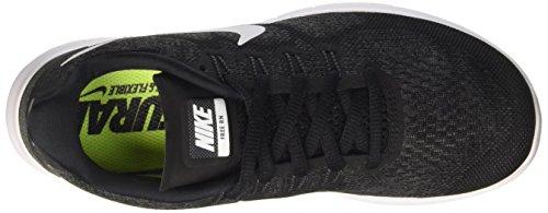 Nike Wmns Free Rn 2017, Scarpe Running Donna Nero (Black/white/dark Grey/anthracite)