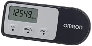 Omron Walking Style One 2.1 Pedometer - Black/Grey