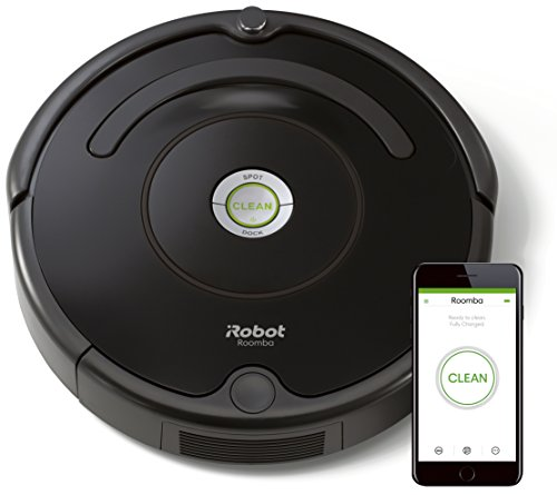 IRobot Roomba 671 Saugroboter (hohe Reinigungsleistung mit Dirt Detect, reinigt alle Hartböden und...