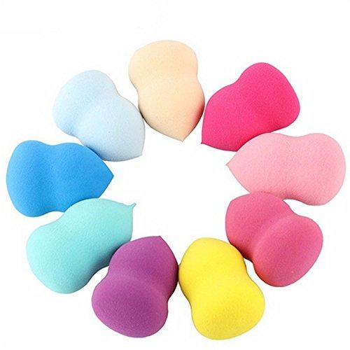 Demarkt 1 Pcs Applicateur Blender éponge de Maquillage Beauté Liquide Fondation Makeup Sponge Couleur Aléatoire Gourde