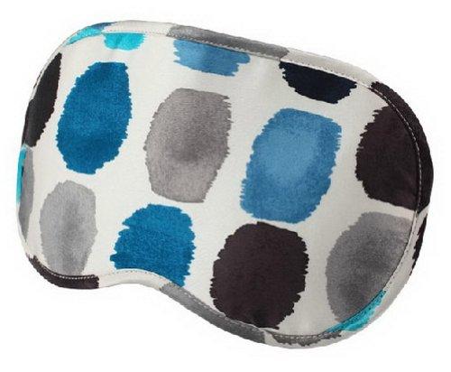 Charmant Mou double cache oeil/cache oeil pour dormir, point bleu