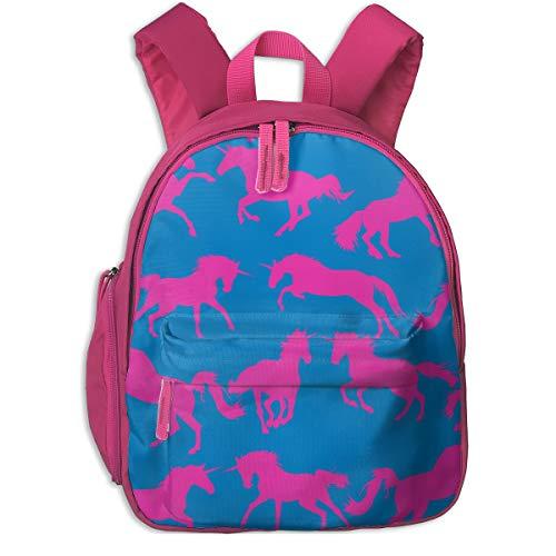Mädchen, Unicorn Disco_3934 - Pennyroyal, Für Kinderschulen Oxfordstoff (pink) ()