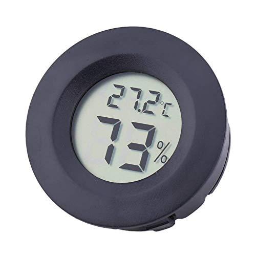 OneMoreT Digitales Thermometer, LCD-Display, Temperatur, Luftfeuchtigkeit, Hygrometer, tragbarer Kühl-/Gefrierschrank-Tester