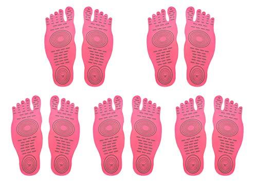 DD Barefoot Socken für Bewegung Beach Pool Füße, Wasser Schuh, Anti-Rutsch Yoga Socken, Aufkleber Selbstklebend Fuß für Männer Frauen, Elastic Flexible Füße Schutz