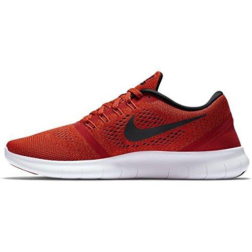 Nike Free RN, Chaussures de Running Entrainement Homme Rouge - Rojo (Unvrsty Red / Blck-Ttl Crmsn-Wht)