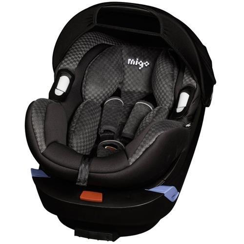 Migo 100-103-16 Babyschale Kindersitz Satellite, ECE Gruppe 0+, 0 bis 13 Kg, grau