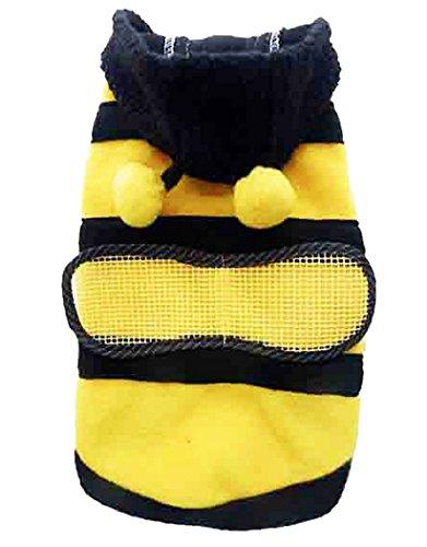 Animally® Hunde Bienen Kostüm - Biene (L) (Biene Kostüme Für Hunde)