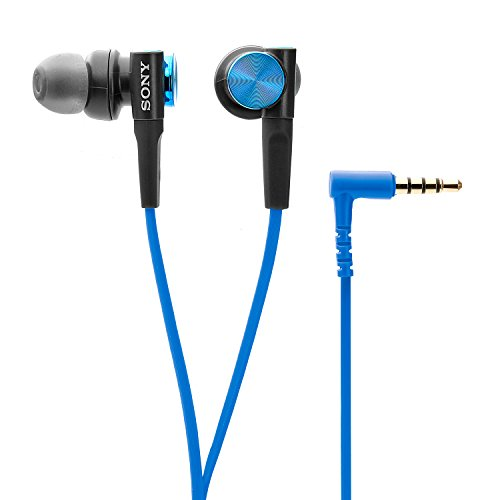 Sony MDR-XB50AP In-Ear EXTRA BASS Headphones with Mic (Blue)
