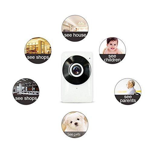 Wireless WiFi cámara de vigilancia de detección de movimiento de vigilancia Wifi...