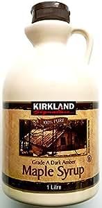 Kirkland sciroppo d'acero - 1 x 1ltr