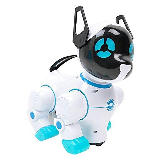 ere Singen Tanzende Roboter-Hunde Mit Musik Für Kinder Lustige Spiele Spielen Spielzeuggeschenk-Himmelblau ()