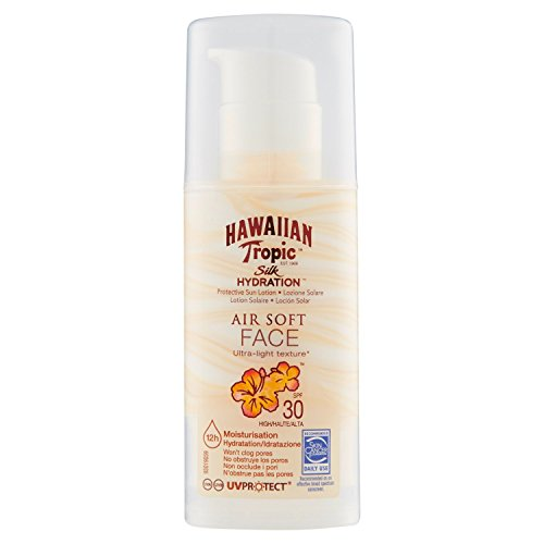 Details about Hawaiian Tropic Silk Hydration Air Soft Face Sun Protection  Lotion SPF 30 4f19d6996ef4