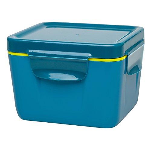 Aladdin 0,7 Litre 33391 Boîte Repas Isotherme, en Plastique Alimentaire Boîtes de Rangement, Bleu Marine