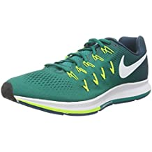 wholesale nike zoom pegasus 33 verde blanco 9be8a 38653