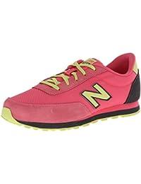 New Balance KL501BSY - Zapatillas para niña, color rosa / azul marino / beige