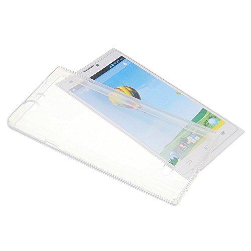 Tasche für ZTE Blade L2 Gummi TPU Schutz Handytasche transparent klar