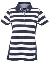James & Nicholson Polo Ladies Maritime - Camiseta/Camisa deportivas
