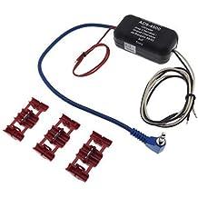 Volante mando a distancia Chrysler Cherokee Sony Radio Cable Adaptador Conector ISO DIN