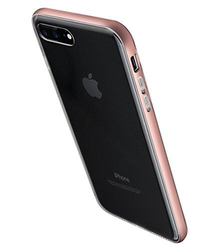 Apple Iphone 7 Melkco Elite-Serie Premium Leder-Snap zurück Tasche Tasche mit Premium-Leder Handgefertigte gute Schutz, Premium Feel-Tan Rosen-Gold