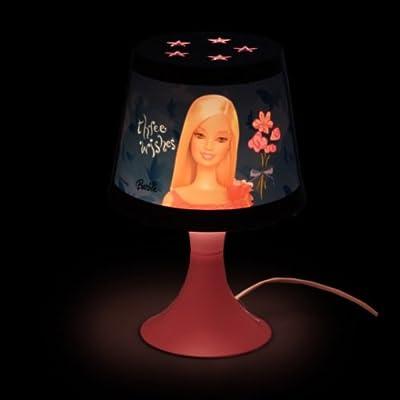 Mattel BARBIE Lampe Kinderzimmer (D) Nachttischlampe Nachtlicht Tischlampe Kinder Kinderzimmer Beleuchtung von Mattel auf Lampenhans.de