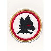 Patch Parche Bordado Roma con lobo Termoadhesivo cm 6,7Replica