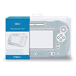 Wii U – GamePad Polycarbonat Case Clear
