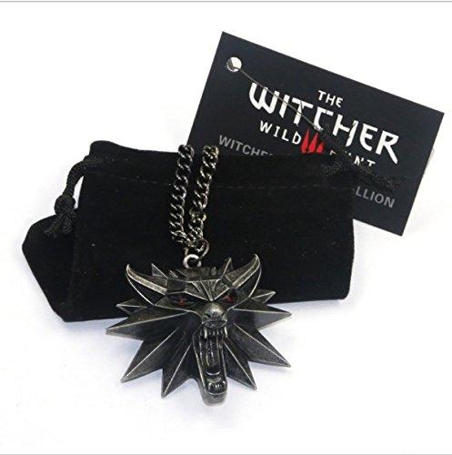 the-witcher-3-wild-hunt-pendentif-tete-de-loup-alliage-de-zinc