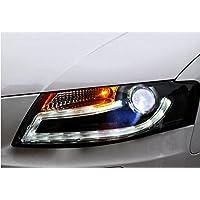 GOWE - Faros Delanteros LED para Audi A4 B8 2009-2012 A4L DRL Bi Xenon