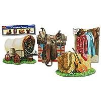 Cowboy Cutouts (16 40,64 cm confezione da 4, 2 lati