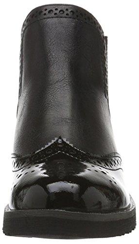 Marco Tozzi 25410, Bottes Chelsea Femme Noir (BLACK ANT.COMB 096)