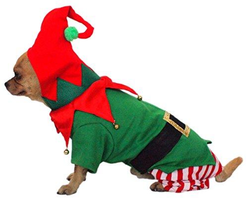 Dogs & Co Elf Weihnachten Hund Kostüm
