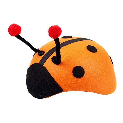 Scrox 1 x Halloween-Ornament, Niedliches Tier-Zubehör, Zubehör für Spiele, Erwachsene, Cartoon-Zubehör, Chafer, 19.5 * 8.5cm