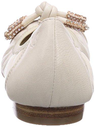 Caprice - 22110, Ballerine Donna Avorio (Elfenbein (OFFWHITE/109))
