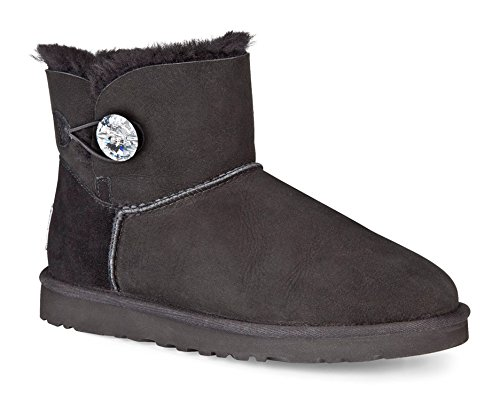 UGG Australia Donna Mini Bailey Bling Stivali Nero Size: 41