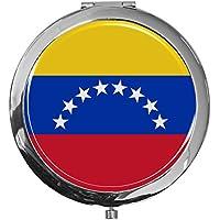 """metALUm - Extragroße Pillendose in runder Form""""Flagge Venezuela"""" preisvergleich bei billige-tabletten.eu"""