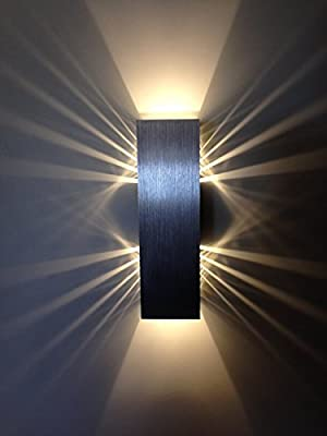 "SpiceLED® ""ShineLED-6"" Wall Light 2x3W LED Effect Warm White"