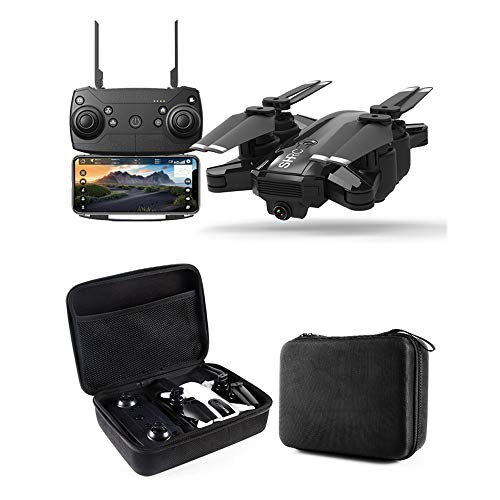 SUNHAO Drohne GPS 1080P HD Kamera 5 GHz Follow Me WiFi FPV RC Quadrocopter Faltbare Selfie Live Video Höhe Halten Sie Auto Return RC Dron from Theresal (Auto-selfie)