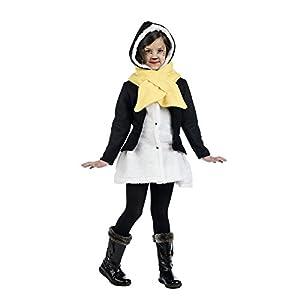 Limit Sport - Disfraz de abrigo y bufanda pingüino para niños, talla 2 (MI935)