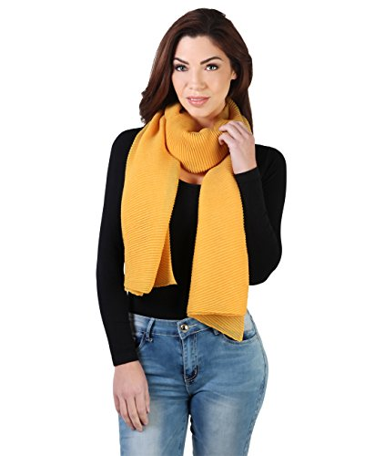 krisp-sciarpa-sciarpa-basic-donna-yellow-taglia-unica