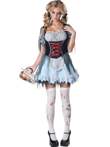 Sexy Zombie (Bayerisches Zombie-Dirndl für Damen)
