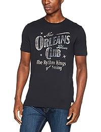 Jack & Jones Vintage Jjvdean Tee Ss Crew Neck, T-Shirt Homme