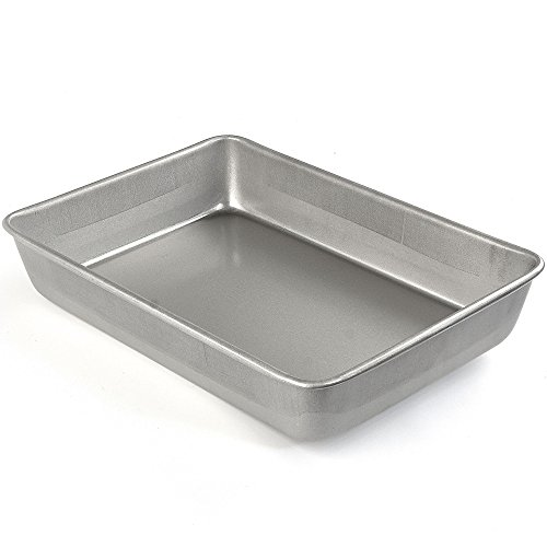 Emeril Lagasse 62677 Aluminized Steel Nonstick Oblong Cake Pan, 13-Inch x 9-Inch