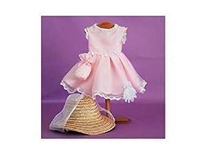 Mariquita Pérez Organdi Rosa Complementos, Color Vestido de colección diseño Propio (Comercial de Juguetes Maripe SL 1)