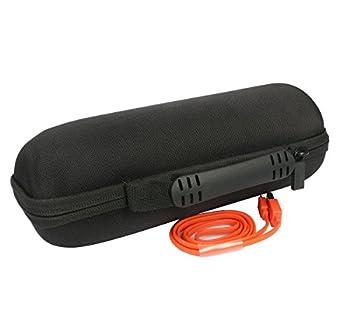 Travel Case For Jbl Flip 4 3 Bluetooth Portable Stereo Speaker By Co2crea (Black Hard Case) 4