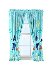 Disney Finding Dory Window Drapes