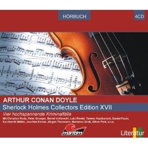 Sherlock Holmes Collectors Edition XVII: Vier Kriminalhörspiele